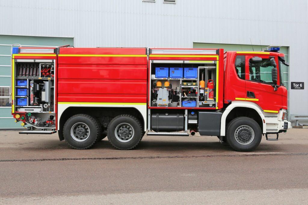 GTLF 8000 der Feuerwehr Lügde